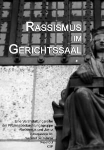 rassismus im gerichtssaal flyer front copy
